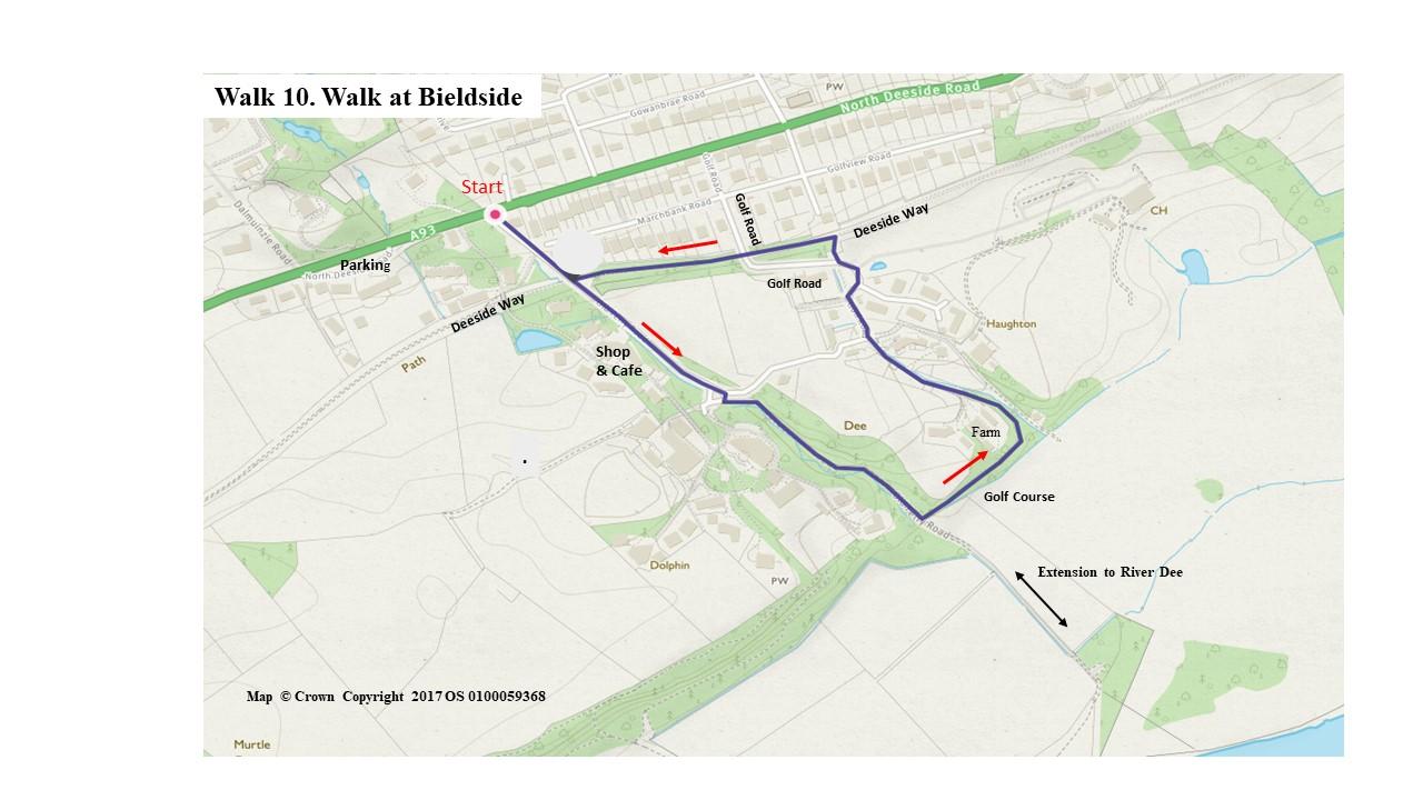 Walk 10 Map