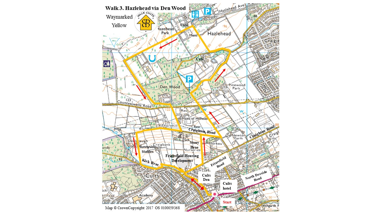 Walk 3 map