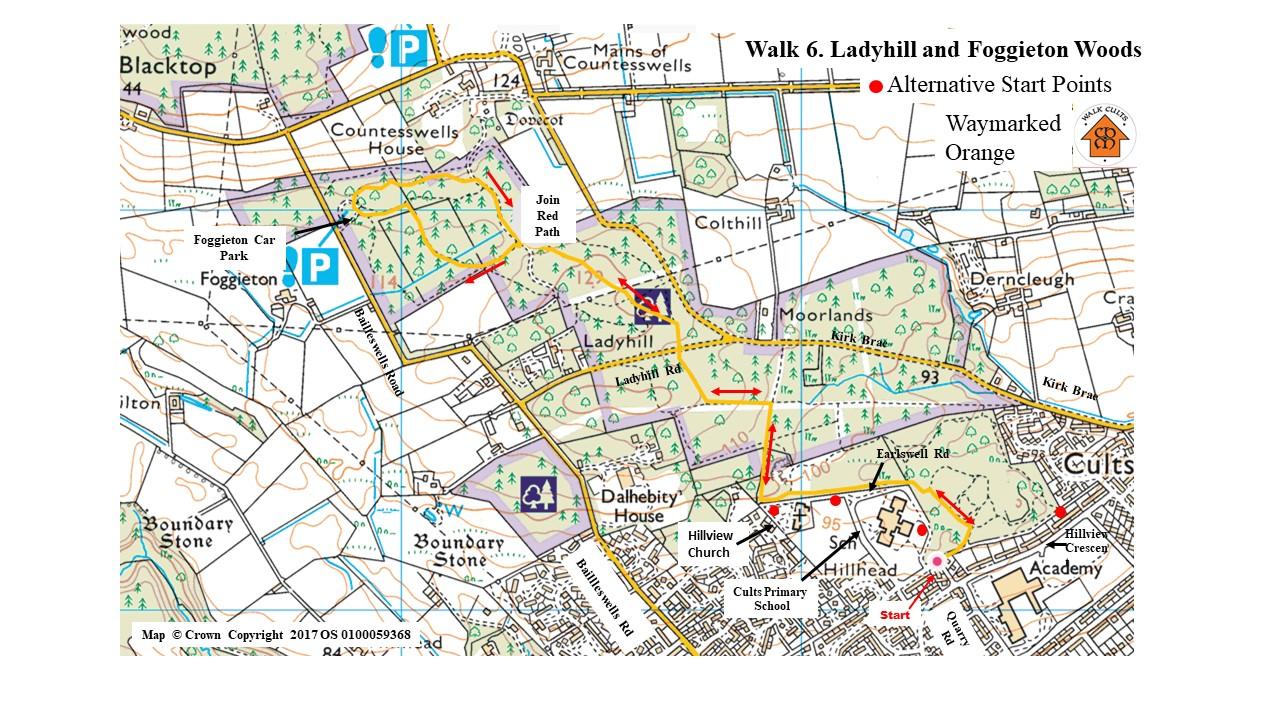 Walk 6. Map